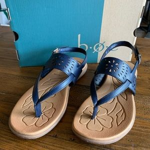 BOC Clearwater Navy Sandals